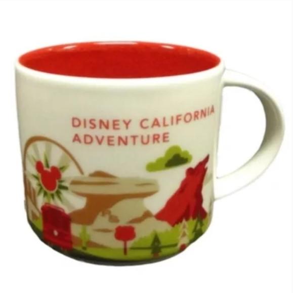Disney California Adventure mug